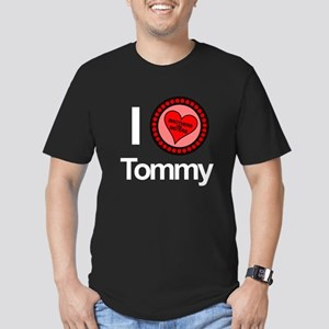 I Love Tommy Brothers & Sisters Men's Fitted T-Shi
