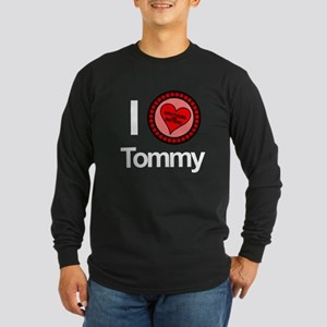 I Love Tommy Brothers & Sisters Long Sleeve Dark T