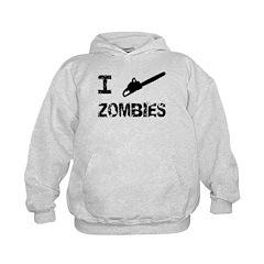 I Chainsaw Zombies Hoodie
