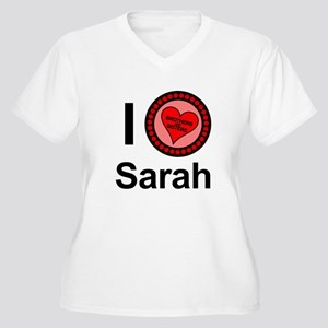 I Love Sarah Brothers & Sisters Women's Plus Size