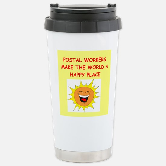 mailmen Stainless Steel Travel Mug