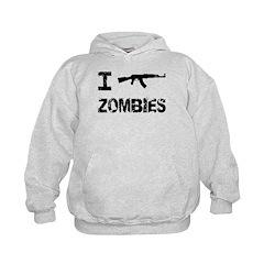 I Shoot Zombies Hoodie
