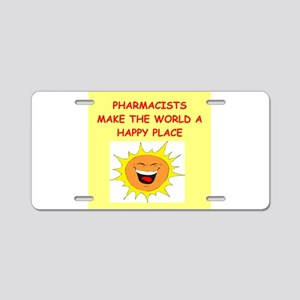pharmacists Aluminum License Plate