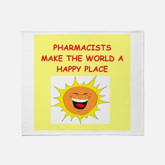pharmacists Throw Blanket