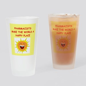 pharmacists Drinking Glass