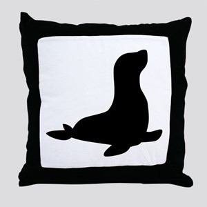 Seal Throw Pillow