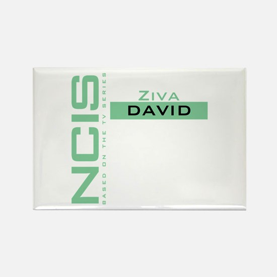 NCIS Ziva David Rectangle Magnet