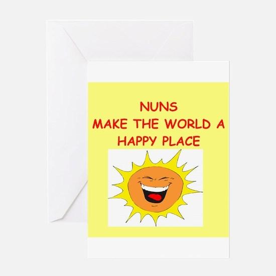nuns Greeting Card
