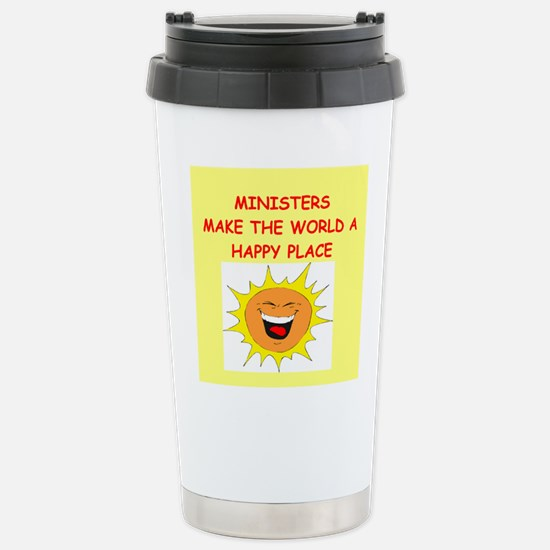 minister Stainless Steel Travel Mug
