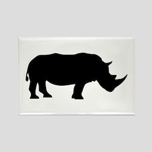 Rhino Rectangle Magnet