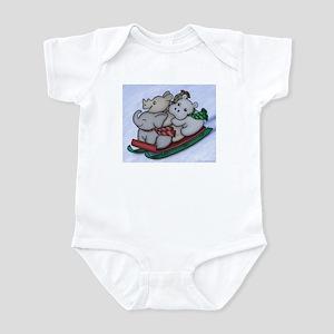Sledding Infant Bodysuit