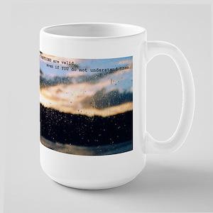 My Emotions are valid Large Mug