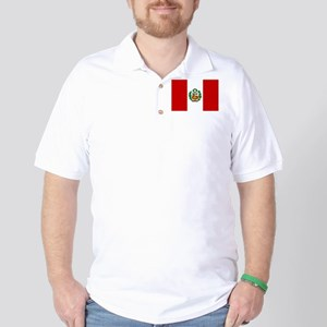 Flag of Peru Golf Shirt