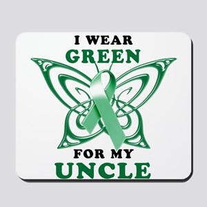 I Wear Green for my Uncle Mousepad