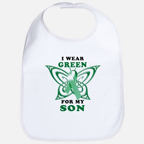 I Wear Green for my Son Bib