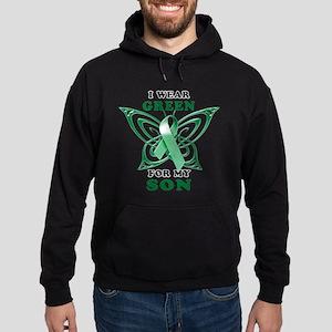 I Wear Green for my Son Hoodie (dark)