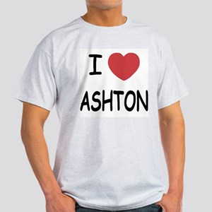 I heart ashton Light T-Shirt