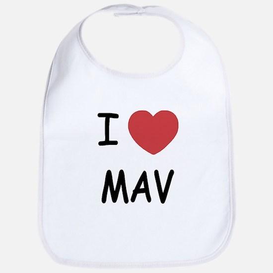 I heart mav Bib