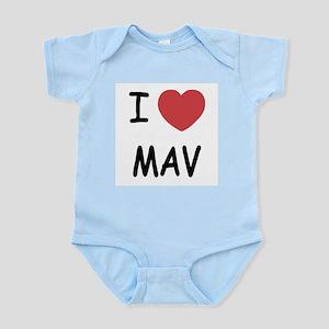 I heart mav Infant Bodysuit