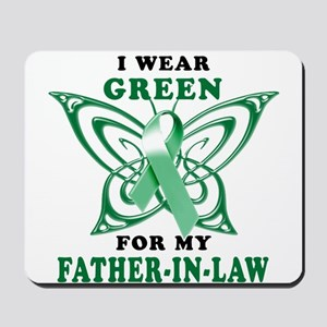 I Wear Green for my Father In Mousepad