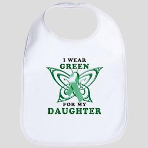 I Wear Green for my Daughter Bib