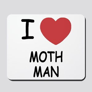I heart mothman Mousepad