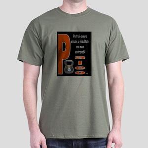Scuse o Risultati Dark T-Shirt