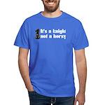 Knight Not A Horsy Chess Dark T-Shirt