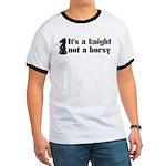 Knight Not A Horsy Chess Ringer T