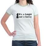 Knight Not A Horsy Chess Jr. Ringer T-Shirt