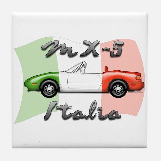 Funny Miata Tile Coaster