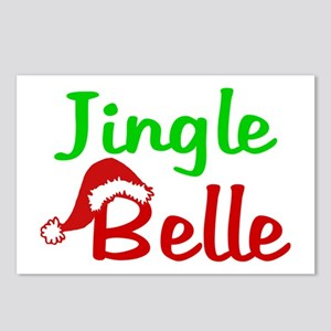 Jingle Belle Postcards (Package of 8)