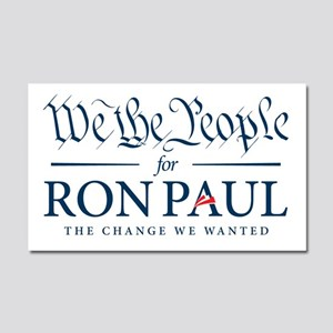 People for Ron Paul Car Magnet 20 x 12