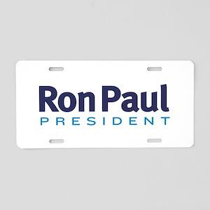 Ron Paul 2012 Aluminum License Plate