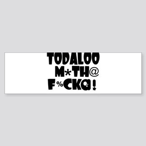 TODALOO MTF Sticker (Bumper)