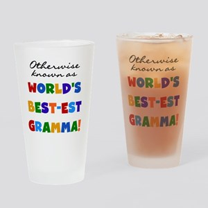 Otherwise Known Best Gramma Drinking Glass