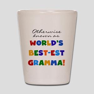 Otherwise Known Best Gramma Shot Glass