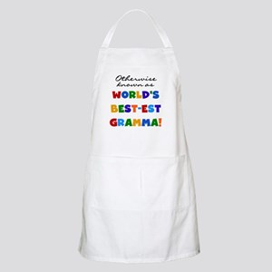 Otherwise Known Best Gramma Apron