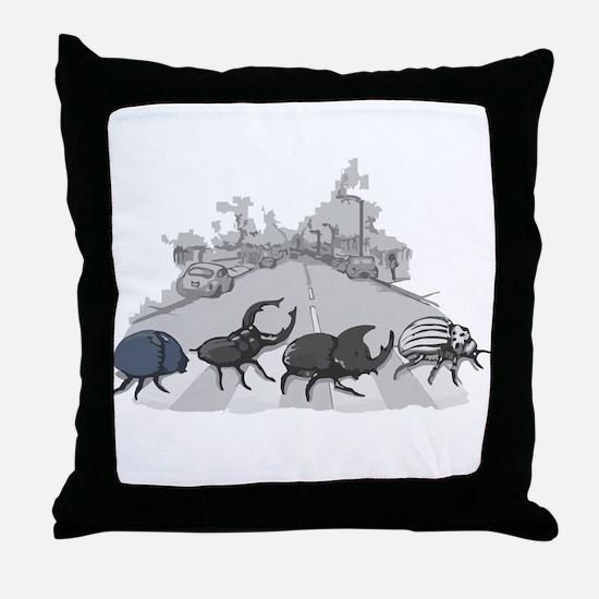 Beatles Throw Pillow