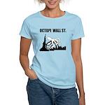 Octopi Wall Street Women's Light T-Shirt