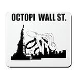 Octopi Wall Street Mousepad