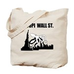 Octopi Wall Street Tote Bag