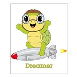 Turtle Dreamer™ Small Poster