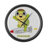 Turtle Dreamer™ Large Wall Clock