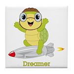 Turtle Dreamer™ Tile Coaster