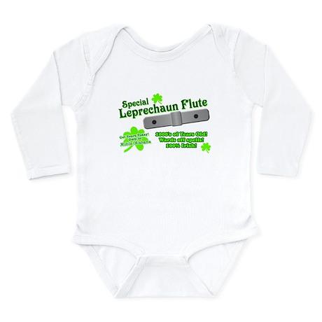 Special Leprechaun Flute Long Sleeve Infant Bodysu