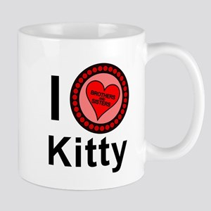 I Love Kitty Brothers & Sisters Mug