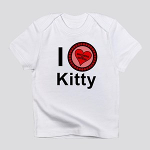 I Love Kitty Brothers & Sisters Infant T-Shirt