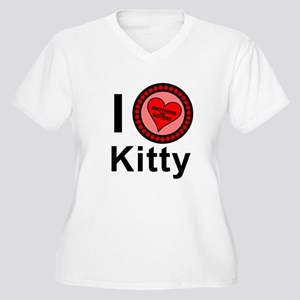 I Love Kitty Brothers & Sisters Women's Plus Size