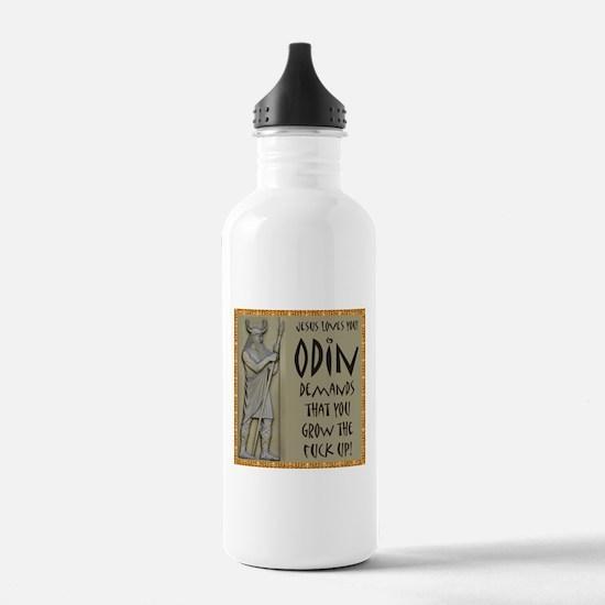 Odin Demands Grow Up Water Bottle